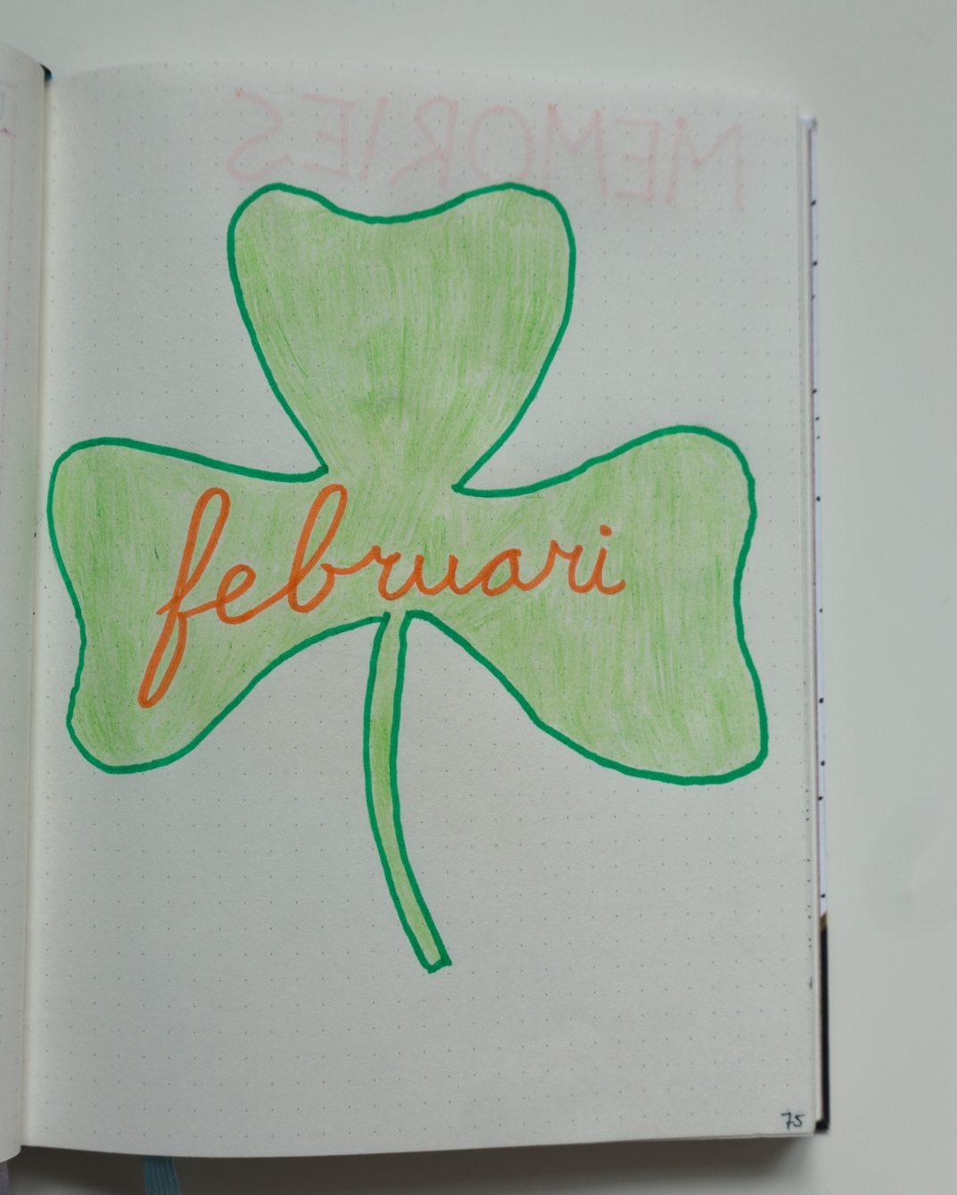 Bullet Journal: Februari