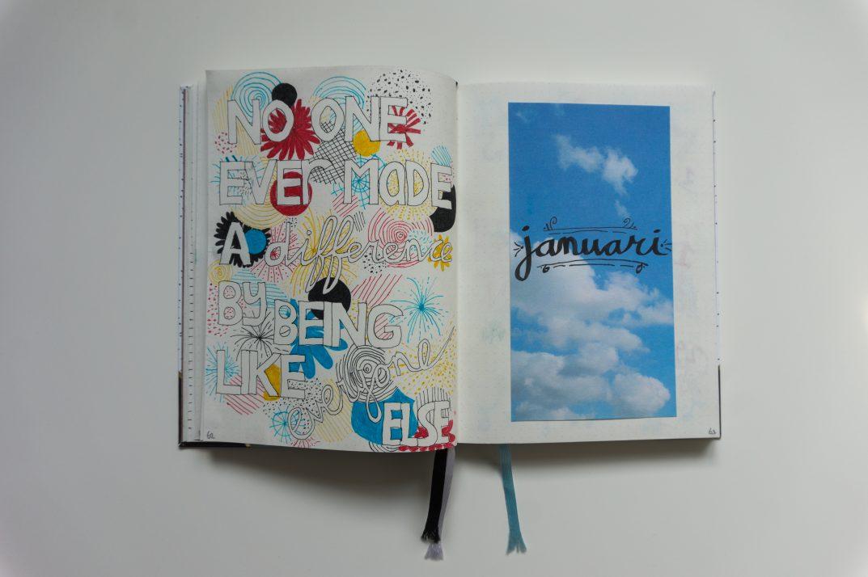 Bullet journal: Januari